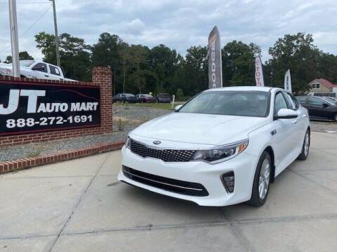 2018 Kia Optima for sale at J T Auto Group in Sanford NC