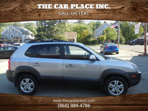 2006 Hyundai Tucson for sale at THE CAR PLACE INC. in Somersville CT