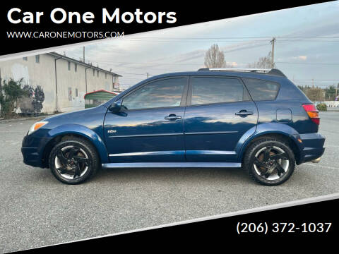 2006 Pontiac Vibe for sale at Car One Motors in Seattle WA