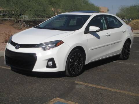 2016 Toyota Corolla for sale at COPPER STATE MOTORSPORTS in Phoenix AZ