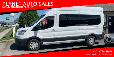2017 Ford Transit Passenger for sale at PLANET AUTO SALES in Lindon UT