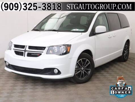 2019 Dodge Grand Caravan for sale at STG Auto Group in Montclair CA