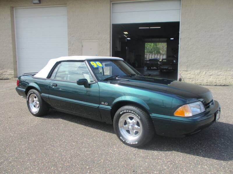 1990 Ford Mustang for sale at Route 65 Sales & Classics LLC - Classic Cars in Ham Lake MN