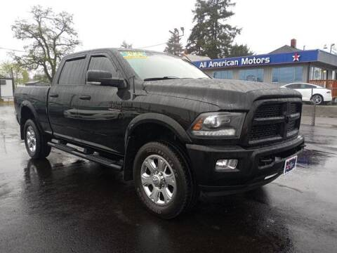 2015 RAM Ram Pickup 3500 for sale at All American Motors in Tacoma WA