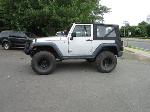 2010 Jeep Wrangler for sale at Nutmeg Auto Wholesalers Inc in East Hartford CT