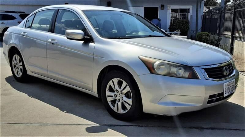 2008 Honda Accord for sale at DOYONDA AUTO SALES in Pomona CA