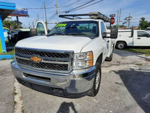 2013 Chevrolet Silverado 2500HD for sale at Autos by Tom in Largo FL