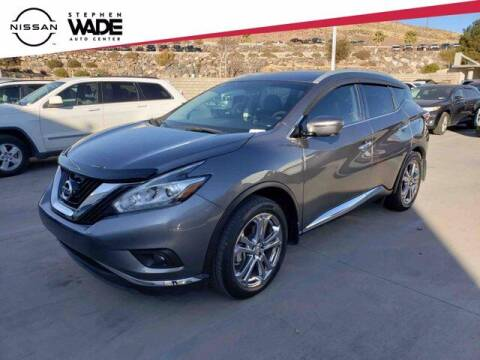 2018 Nissan Murano for sale at Stephen Wade Pre-Owned Supercenter in Saint George UT