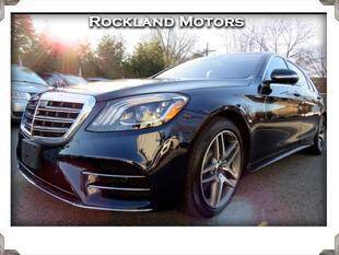 2018 Mercedes-Benz S-Class for sale at Rockland Automall - Rockland Motors in West Nyack NY