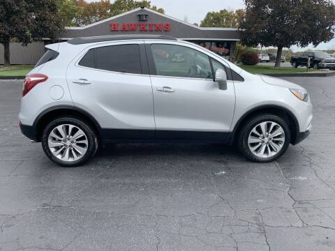 2017 Buick Encore for sale at Hawkins Motors Sales in Hillsdale MI