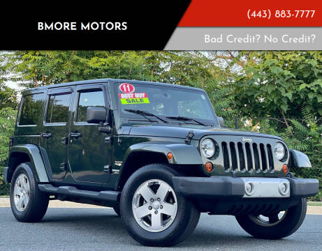 2011 Jeep Wrangler Unlimited for sale at Bmore Motors in Baltimore MD