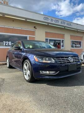 2012 Volkswagen Passat for sale at City to City Auto Sales in Richmond VA