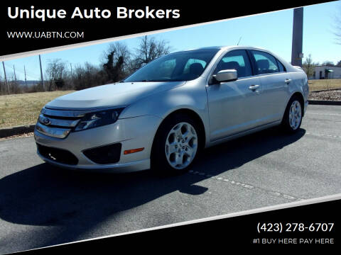 2011 Ford Fusion for sale at Unique Auto Brokers in Kingsport TN
