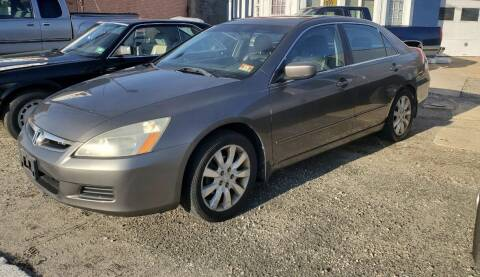 2006 Honda Accord for sale at CANDOR INC in Toms River NJ