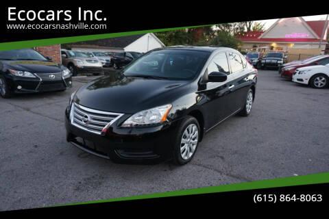 2014 Nissan Sentra for sale at Ecocars Inc. in Nashville TN