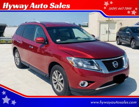2015 Nissan Pathfinder for sale at Hyway Auto Sales in Lumberton NJ