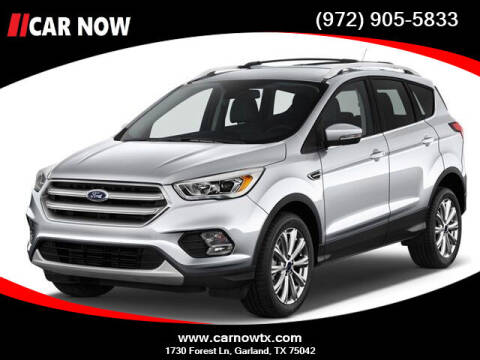 2017 Ford Escape for sale at Car Now Dallas in Dallas TX