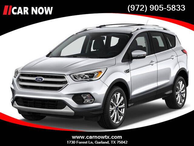 2017 Ford Escape for sale at Car Now in Dallas TX