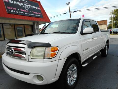 2004 Toyota Tundra for sale at Super Sports & Imports in Jonesville NC