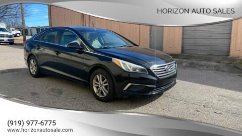 2017 Hyundai Sonata for sale at Horizon Auto Sales in Raleigh NC