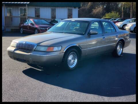 2001 Mercury Grand Marquis for sale at ASTRO MOTORS in Houston TX