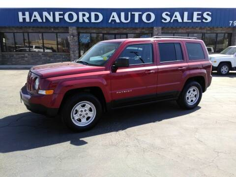 2016 Jeep Patriot for sale at Hanford Auto Sales in Hanford CA