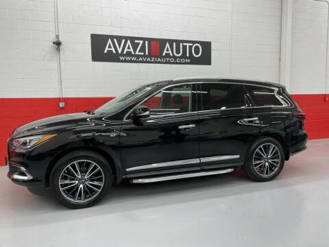2017 Infiniti QX60 for sale at AVAZI AUTO GROUP LLC in Gaithersburg MD