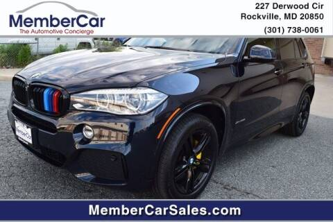 2018 BMW X5 for sale at MemberCar in Rockville MD