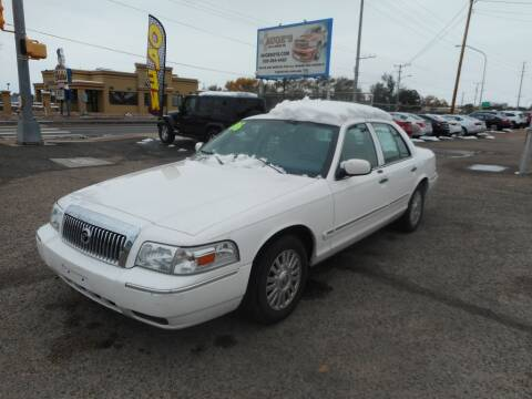 2006 Mercury Grand Marquis for sale at AUGE'S SALES AND SERVICE in Belen NM