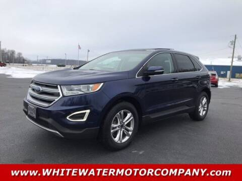 2016 Ford Edge for sale at WHITEWATER MOTOR CO in Milan IN