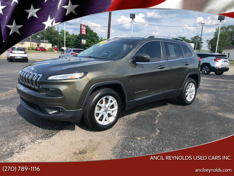 2014 Jeep Cherokee for sale at Ancil Reynolds Used Cars Inc. in Campbellsville KY