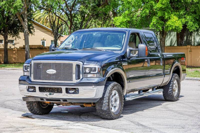 2006 Ford F-250 Super Duty for sale at Easy Deal Auto Brokers in Hollywood FL