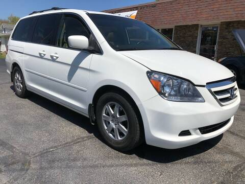 2007 Honda Odyssey for sale at Approved Motors in Dillonvale OH