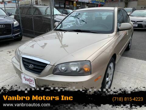 2006 Hyundai Elantra for sale at Vanbro Motors Inc in Staten Island NY