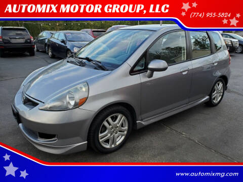 2008 Honda Fit for sale at AUTOMIX MOTOR GROUP, LLC in Swansea MA