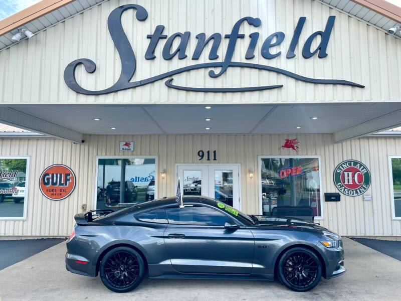 2015 Ford Mustang for sale at Stanfield Auto Sales in Greenfield IN