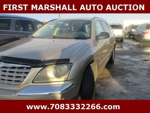 2004 Chrysler Pacifica for sale at First Marshall Auto Auction in Harvey IL