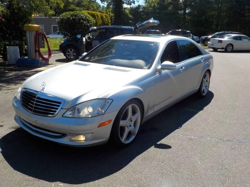 2009 Mercedes-Benz S-Class for sale at RTE 123 Village Auto Sales Inc. in Attleboro MA