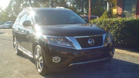 2014 Nissan Pathfinder for sale at Global Vehicles,Inc in Irving TX
