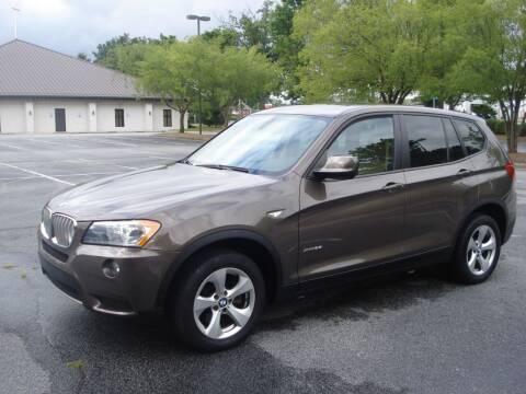 2012 BMW X3 for sale at Uniworld Auto Sales LLC. in Greensboro NC