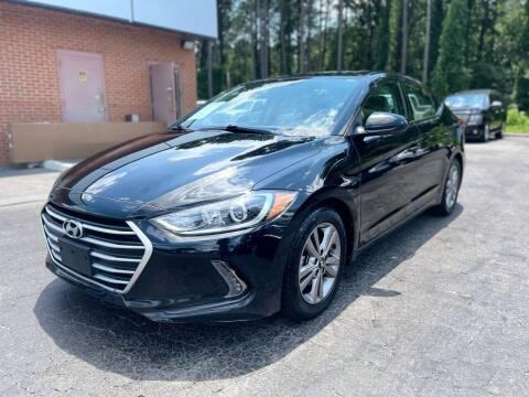2018 Hyundai Elantra for sale at Magic Motors Inc. in Snellville GA