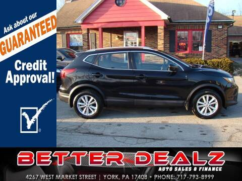 2017 Nissan Rogue Sport for sale at Better Dealz Auto Sales & Finance in York PA