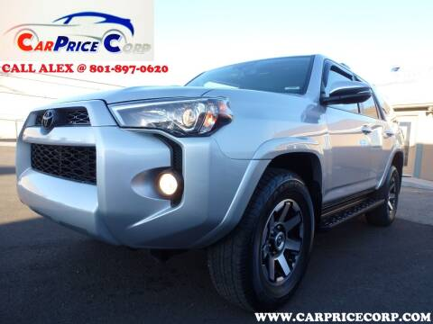 2018 Toyota 4Runner for sale at CarPrice Corp in Murray UT