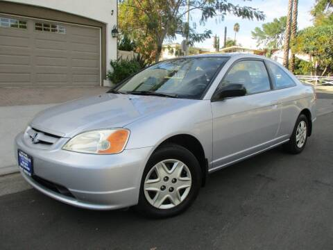 2003 Honda Civic for sale at Valley Coach Co Sales & Lsng in Van Nuys CA