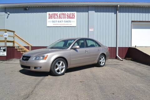 2006 Hyundai Sonata for sale at Dave's Auto Sales in Winthrop MN