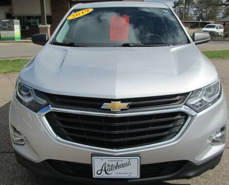2019 Chevrolet Equinox for sale at The AUTOHAUS LLC in Tomahawk WI