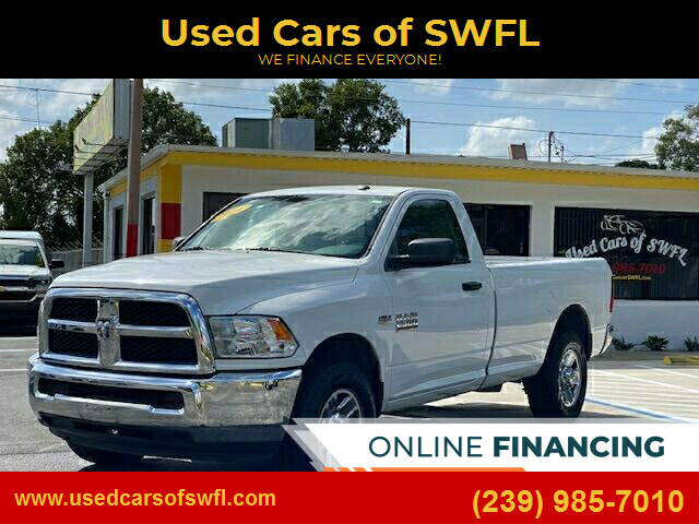2016 RAM Ram Pickup 2500 for sale at Used Cars of SWFL in Fort Myers FL