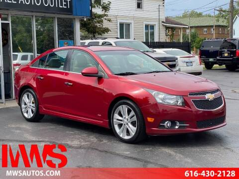 2011 Chevrolet Cruze for sale at MWS Wholesale  Auto Outlet in Grand Rapids MI