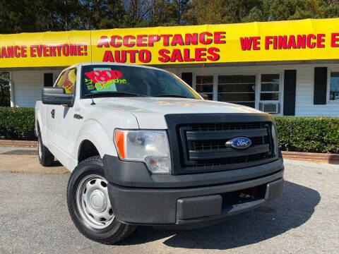 2013 Ford F-150 for sale at Acceptance Auto Sales in Marietta GA
