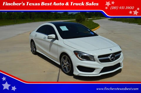2015 Mercedes-Benz CLA for sale at Fincher's Texas Best Auto & Truck Sales in Tomball TX